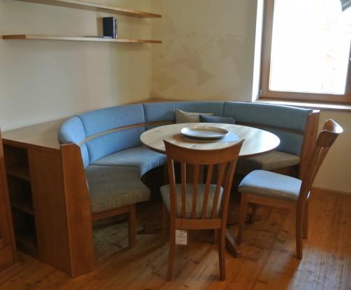 Anrei Essgruppe Vareto - Eckbank, Rundbank, Tisch, Stühle-