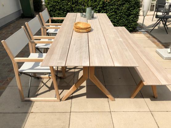 Weishäupl Tisch + 3 Stühle  LOFT