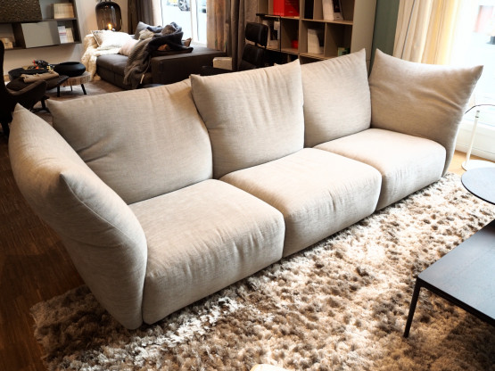 EDRA Sofa Standard 280cm 3-Sitzer Stof...