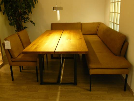 Eckbankgruppe mit erstklassigem Sitzkomfort