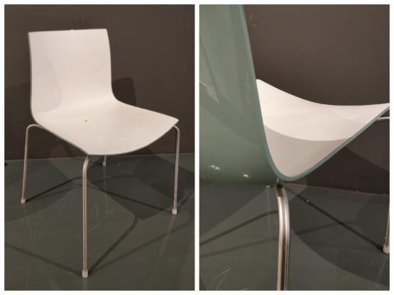 3 Stühle Catifa 46 outdoor von Arper