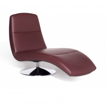 Ewald Schillig Silence Designer Liege Rot Relax Funktion 8404