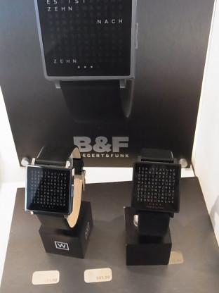 """Armbanduhr """"ClocktwoW"""" von BIEGERT & FUNK"""