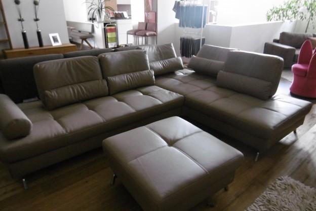 Joop Sofa Loft In Leder Farbe Capuccino Rustica Designermobel