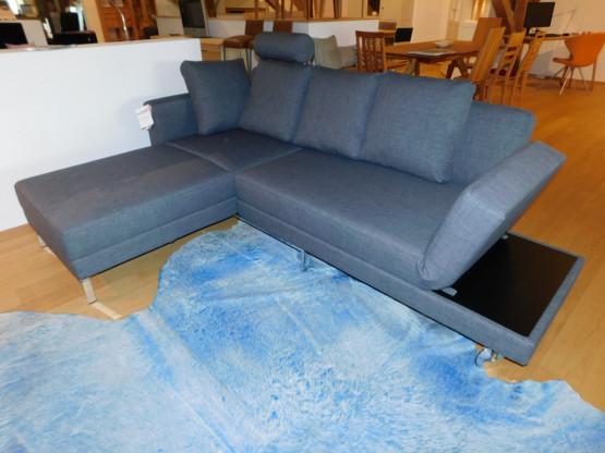 Brühl Sofa Four Two in Stoff grau