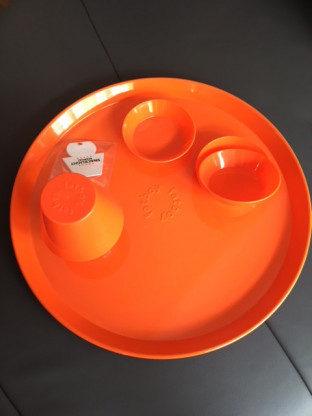Tablett Fatboy Snacklight - orange