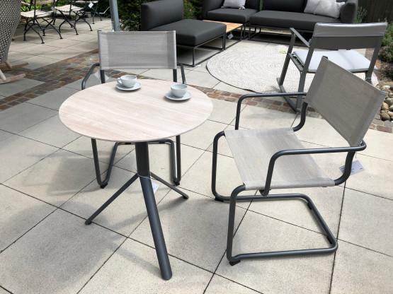 Weishäupl  Tisch TRIO + 2 x Stuhl SOSTA