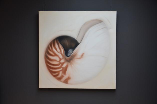 Gemälde Muschel auf Leinwand von Jam Art