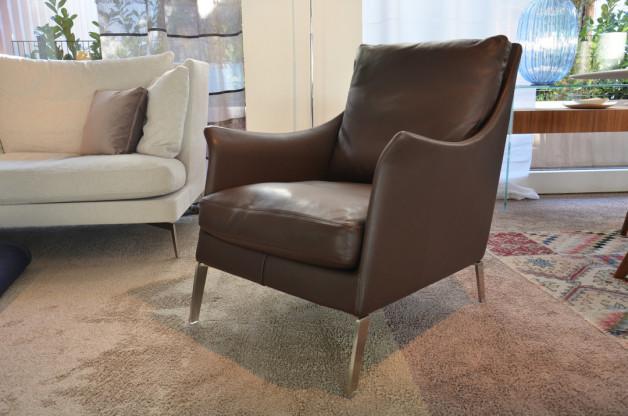 flexform sessel boss designerm bel frankfurt. Black Bedroom Furniture Sets. Home Design Ideas