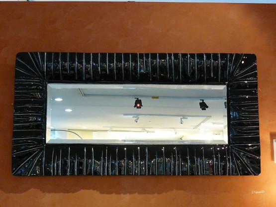 Spiegel Ermes mit Facettenrand von Lavetreria