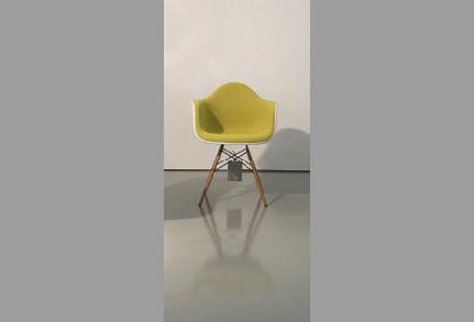 Eames Plastic Armschair DAW