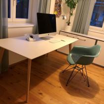 Arper Gher Tisch weiss 180 x 90
