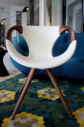 Stuhl Up Chair wood arm