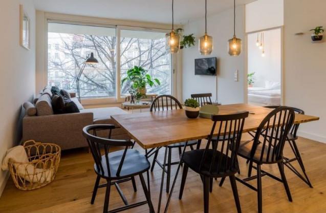 Esstisch Eiche NEU Loft Design Esszimmer Küche Tisch Holz Eichentisch