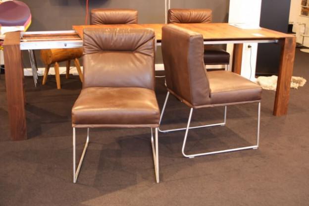 Esszimmerstühle designermöbel  D-Light Esszimmerstühle, 2-er Set, von KFF | Designermöbel Oldenburg