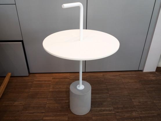 LAPALMA Beistelltisch Jey 40cm Beton Fenix weiß