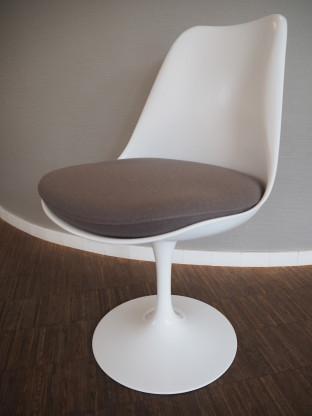 Knoll Stuhl Tulip Chair Weiss Drehbar Wie Neu Designermobel Mainz