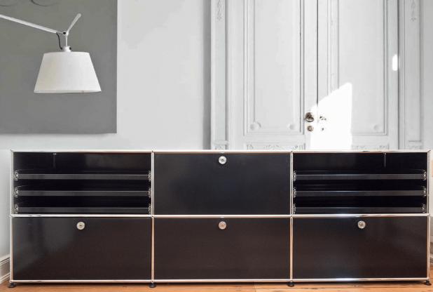 USM Haller Lowboard für Wohnzimmer oder Büro