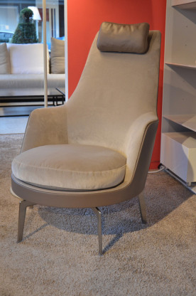 flexform sessel guscioalto designerm bel frankfurt. Black Bedroom Furniture Sets. Home Design Ideas