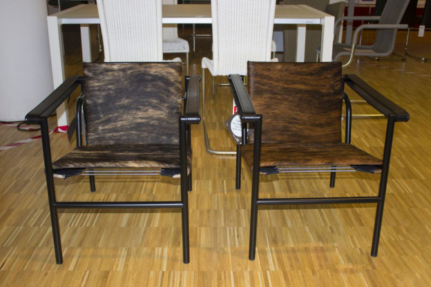 LC 1 Klassiker Sessel von Cassina, limitierte Edition