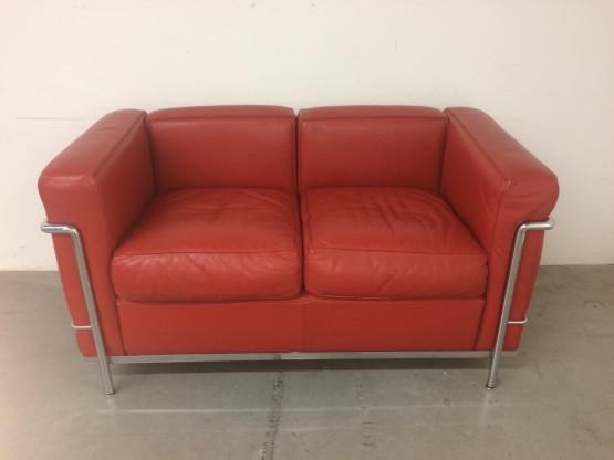 cassina lc2 sofa le corbusier designerm bel k ln. Black Bedroom Furniture Sets. Home Design Ideas