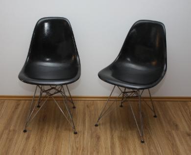 Herman Miller / Vitra DSR Fiberglas Sidechair Eife...