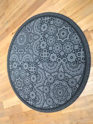 Teppich Aarhus Rund Durchmesser 200 Cm Designermobel Gottingen