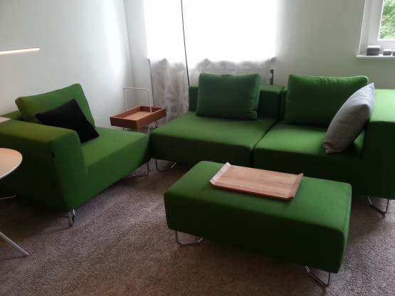 4 Sofa-Elemente   LOTUS  von Softline, Sessel, Sofa oder Ecksofa