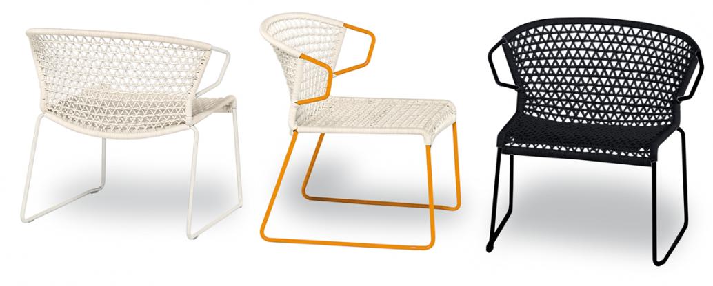 vela - lounge stuhl - design hannes wettstein