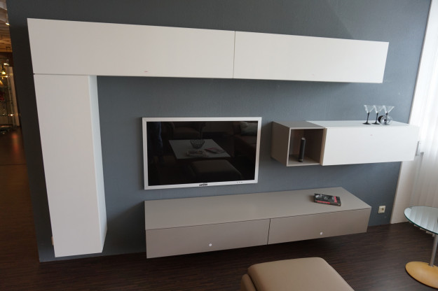 venier wohnwand tv wand designerm bel dreieich. Black Bedroom Furniture Sets. Home Design Ideas