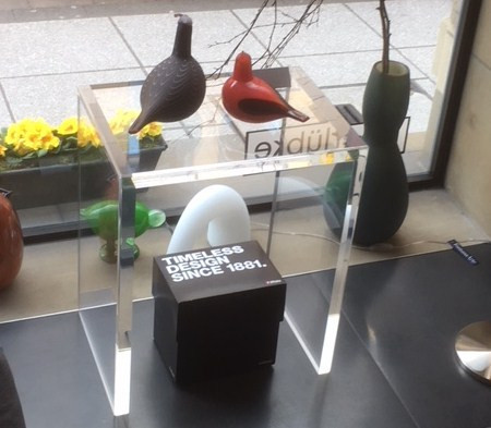 Konsole aus Acrylglas