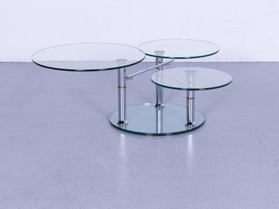 Draenert Intermezzo 1332 Glas Tisch Serie Metamorphosen Couch Tisch Ablage Funktion #5641