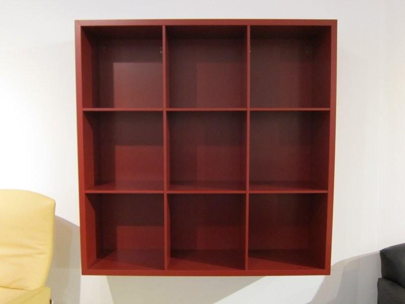 wand regal kronos lack matt rot von verardo designerm bel sindelfingen. Black Bedroom Furniture Sets. Home Design Ideas