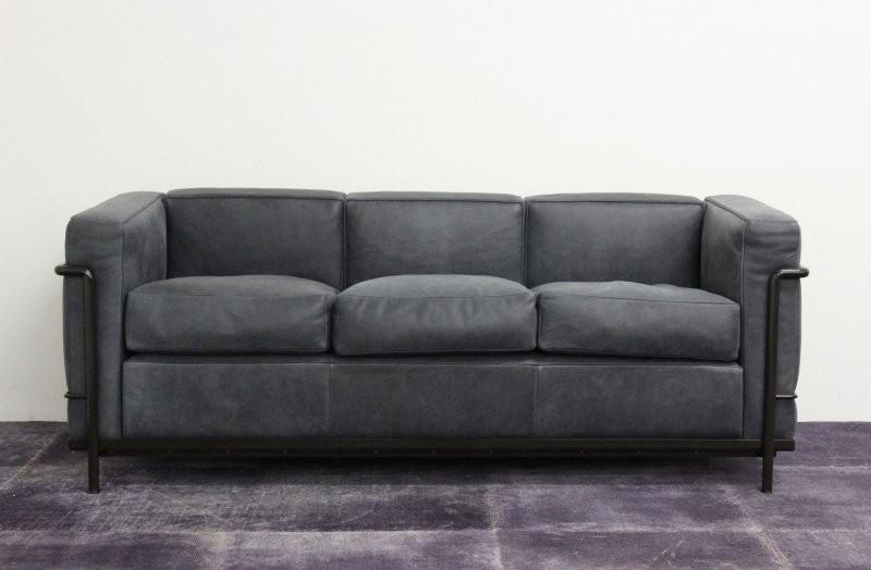 Sofa lc2 3 sitzer anniversary edition designerm bel g ttingen Polsterkissen sofa
