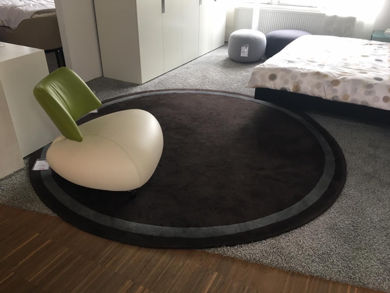 Kinast Teppich, rund  Designermöbel Ennigerloh