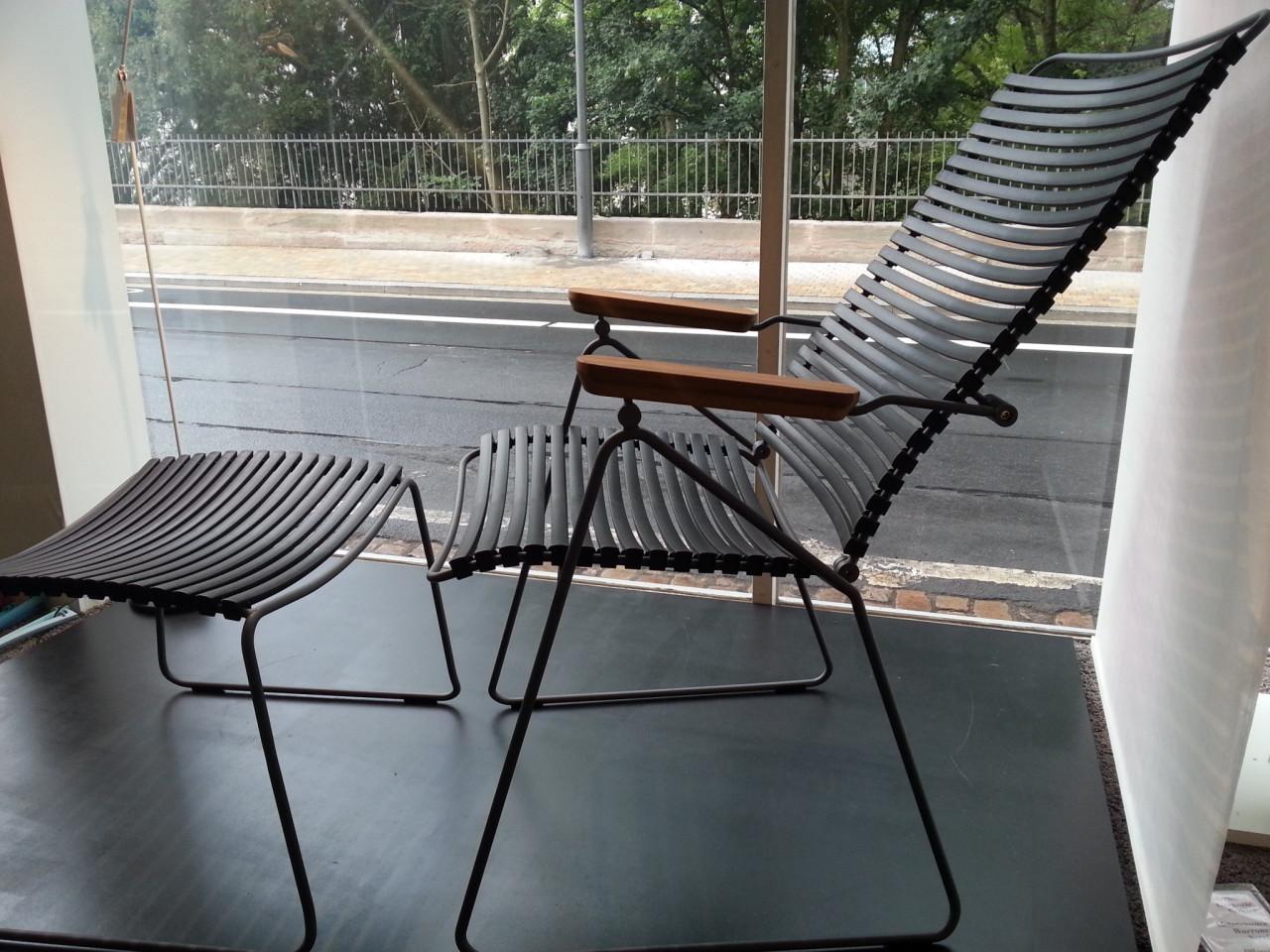 Hochlehnstuhl mit Hocker CLICK von HOUE | Designermöbel Marburg