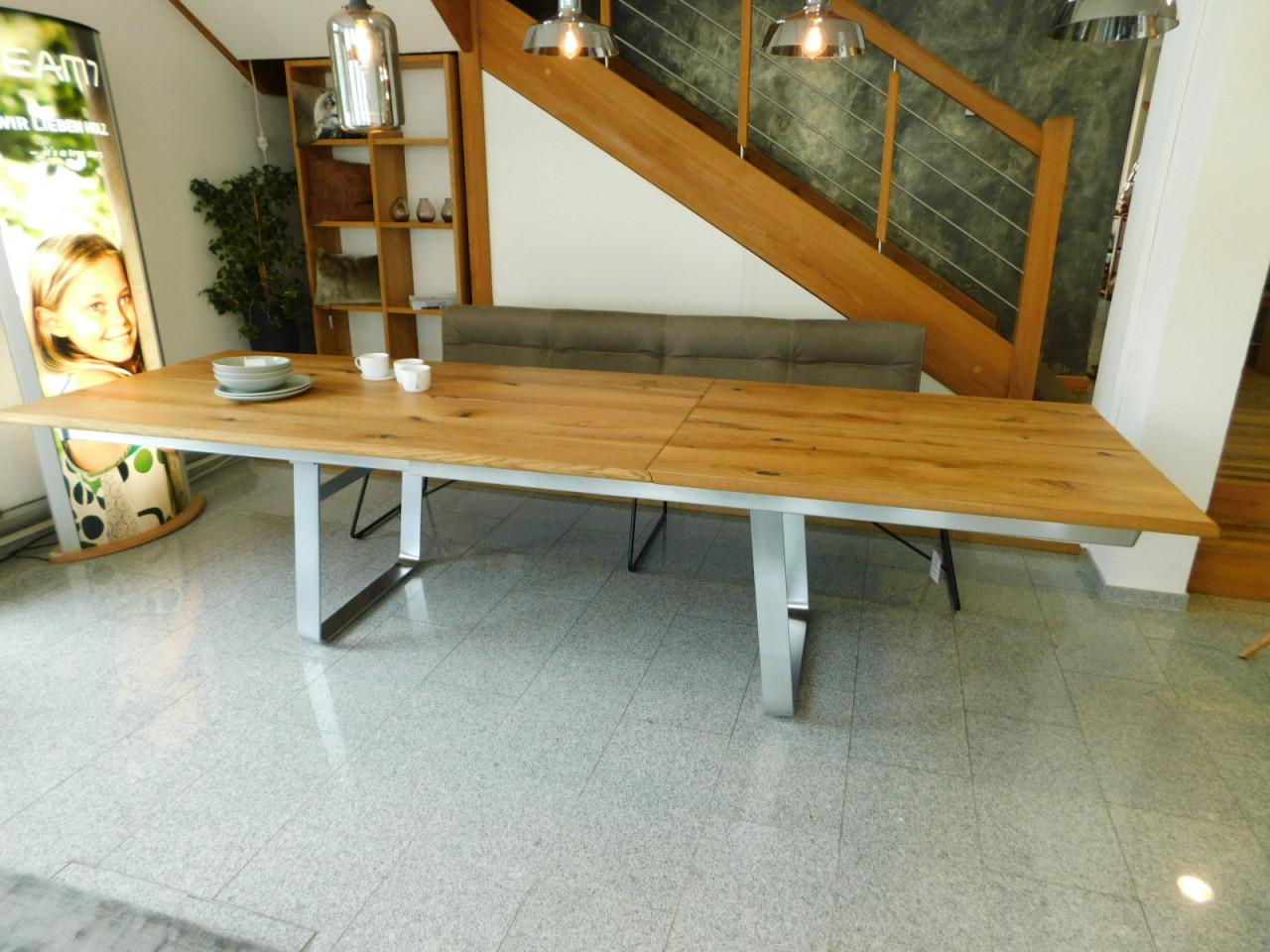 team 7 auszug tisch nox in wildeiche l nge 200 cm 120. Black Bedroom Furniture Sets. Home Design Ideas