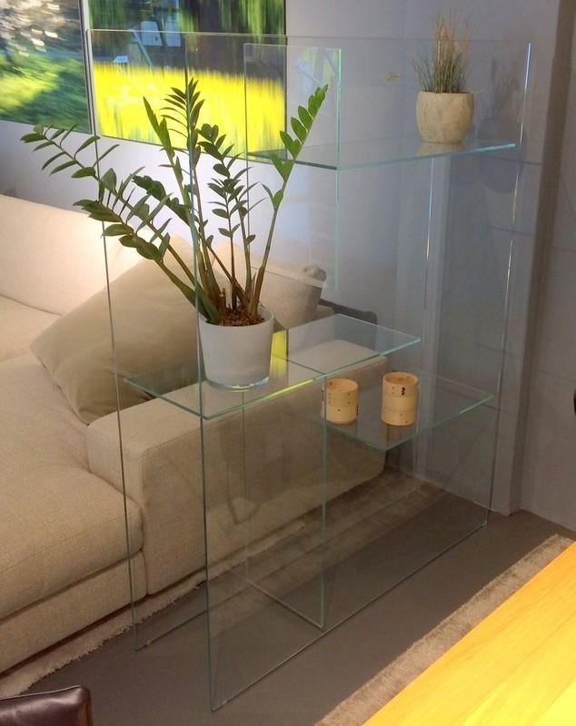 regalraumteiler transfix von glas italia designerm bel k ln. Black Bedroom Furniture Sets. Home Design Ideas