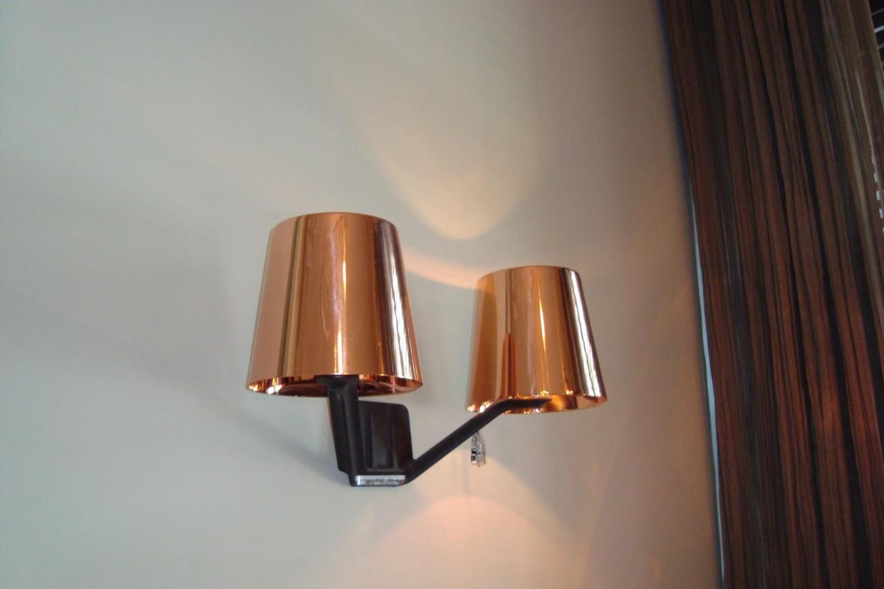 Wandleuchte BASE Copper | Designermöbel Berlin