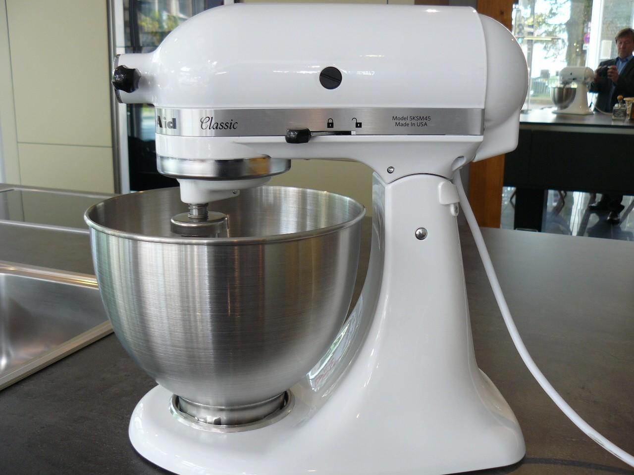 KitchenAid Classic 5 KSM 45 EWH weiß | Designermöbel Solingen