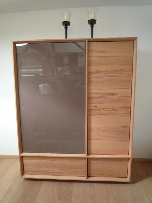 team 7 schrank lux in kernbuche designerm bel hohentengen. Black Bedroom Furniture Sets. Home Design Ideas