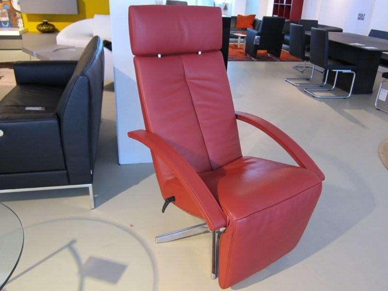 relaxsessel estilo leder ziegelrot von jori designerm bel sindelfingen. Black Bedroom Furniture Sets. Home Design Ideas