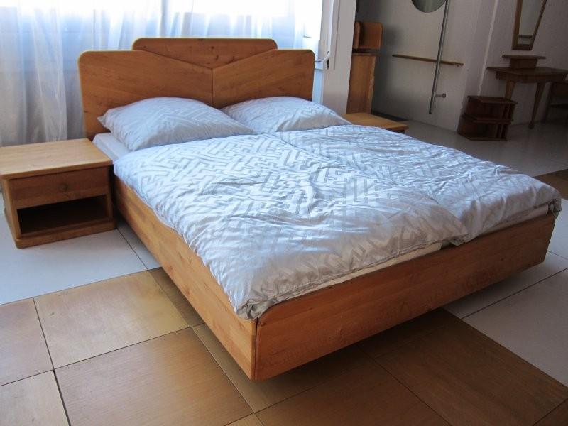TEAM 7 Bett Nox in Eiche (Wildsortierung) 200x200 | Designermöbel ...