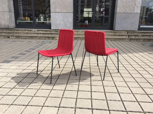 Paola Lenti Stuhl Kiti ohne Auflage | Designermöbel Nürnberg