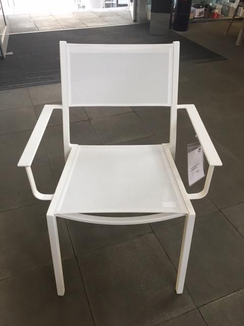 2 Gartenstühle Easy, weiss | Rausch | Designermöbel Ennigerloh