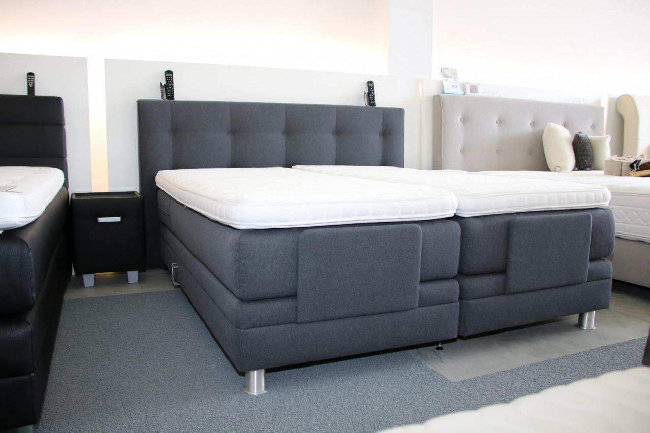 boxspring classic mit je 4 motoren verstellbar. Black Bedroom Furniture Sets. Home Design Ideas