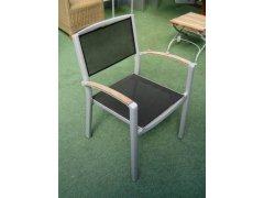 Weishäupl Alulife Serie Sessel mit Netzbespannung
