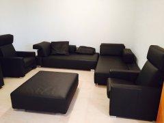 Leder Sofa, Sessel der Marke Brühl im sehr guten Zustand