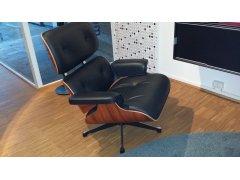 Vitra Lounge Chair - Palisander / Leder schwarz