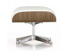 Hocker zu Vitra Lounge Chair in weiß -NEU-